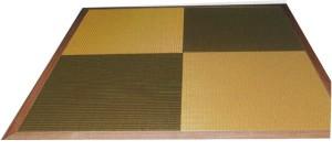スペック置き畳葵 木枠を取り付けることにより洋室も和の広がりを楽しめます。
